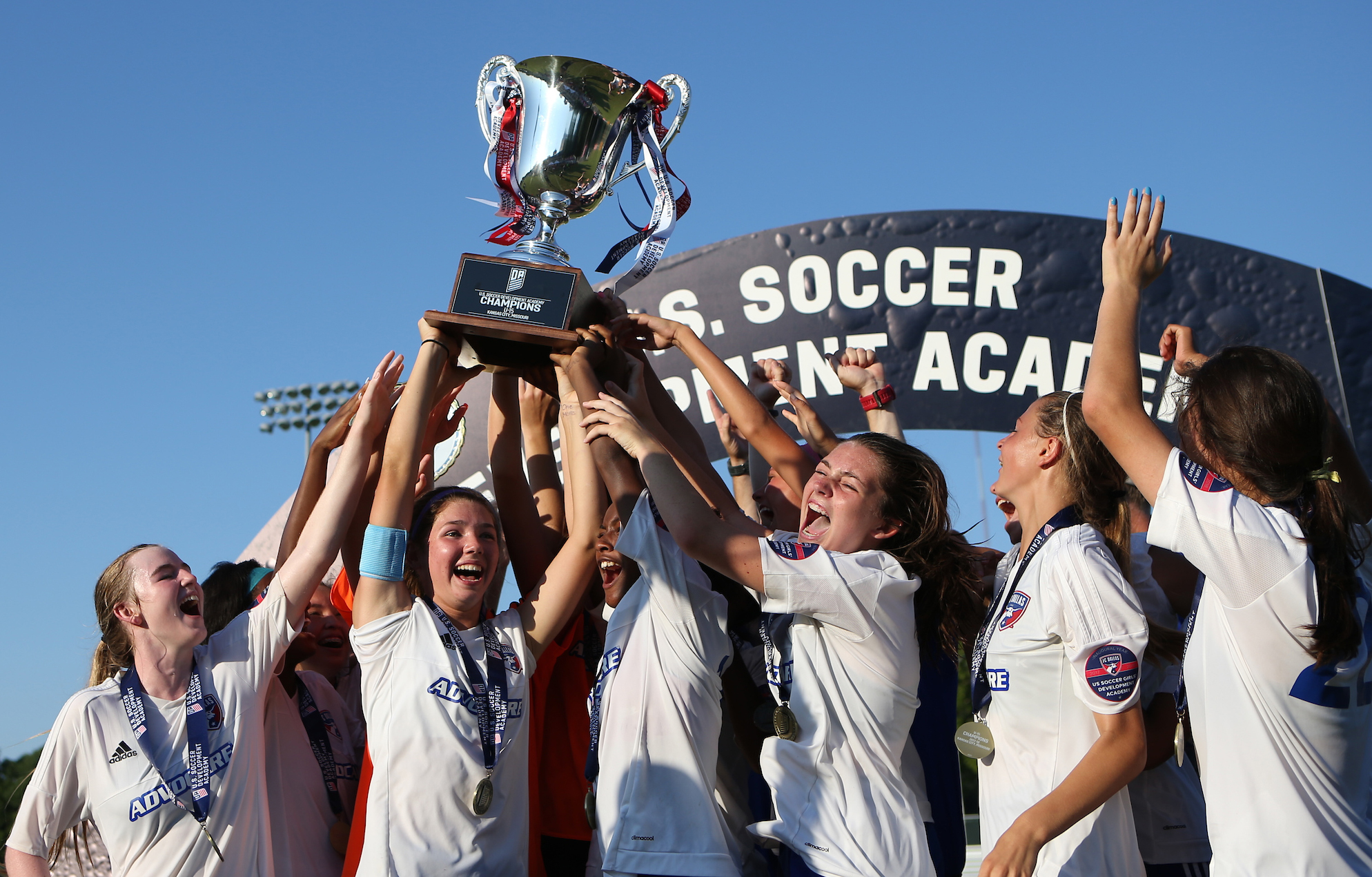 24c5a5298 FC DALLAS CROWNED FIRST U-15 GIRLS  ACADEMY CHAMPION WITH 2-0 WIN OVER  LEGENDS FC