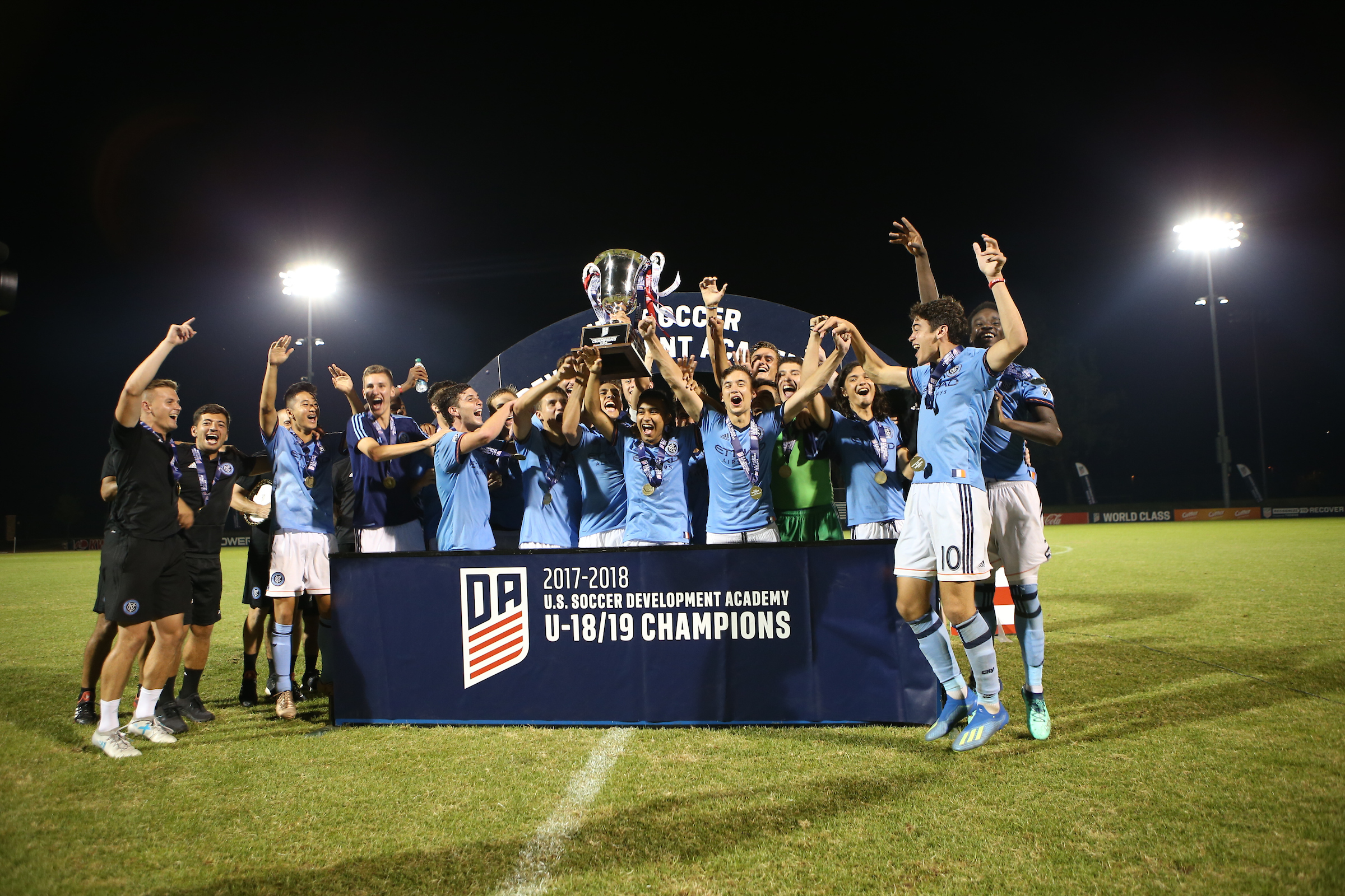 d3c875334 NEW YORK CITY FC TAKES HOME DEVELOPMENT ACADEMY U-18 19 TITLE IN DRAMATIC  PENALTY KICK SHOOTUT
